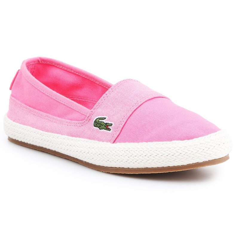 Buty lifestylowe Lacoste Marice W 7-35CAW004213C białe różowe