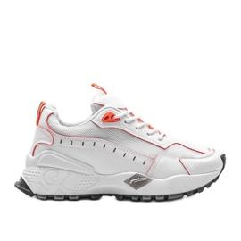 Białe sneakersy sportowe Ericka