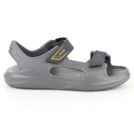 Sandały Crocs Swiftwater Jr 206267-0GR szare