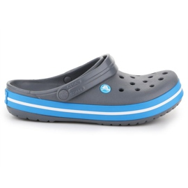 Klapki Crocs Crocband W 11016-07W niebieskie szare