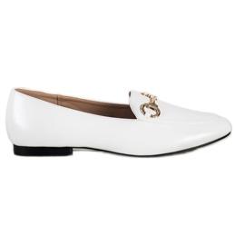 Seastar Eleganckie Mokasyny białe