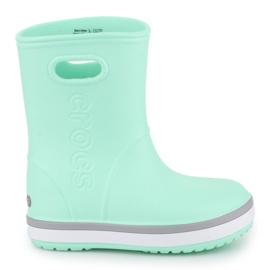 Kalosze Crocs Crocband Rain Boot K Jr 205827-3TO niebieskie