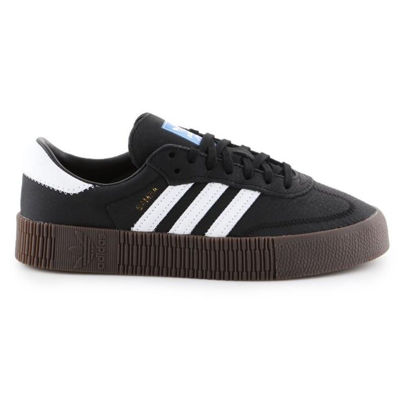 Buty adidas Sambarose W B28156 białe czarne
