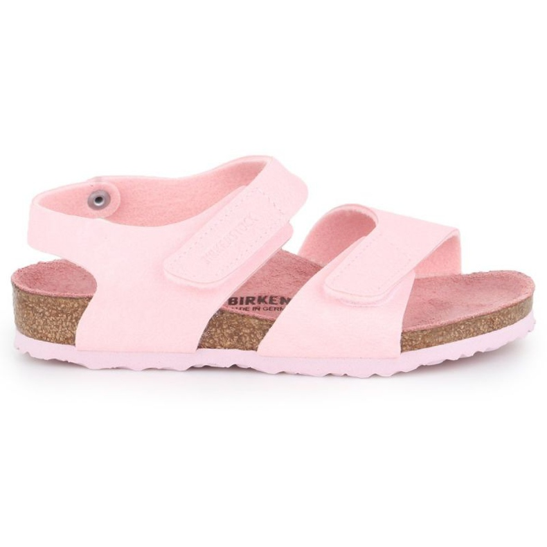 Sandały Birkenstock Palu Kids Logo Bs 1015409 różowe