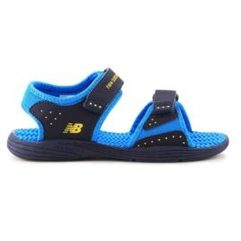 Sandały New Balance Kids Pool Sandal K2004NBL granatowe niebieskie