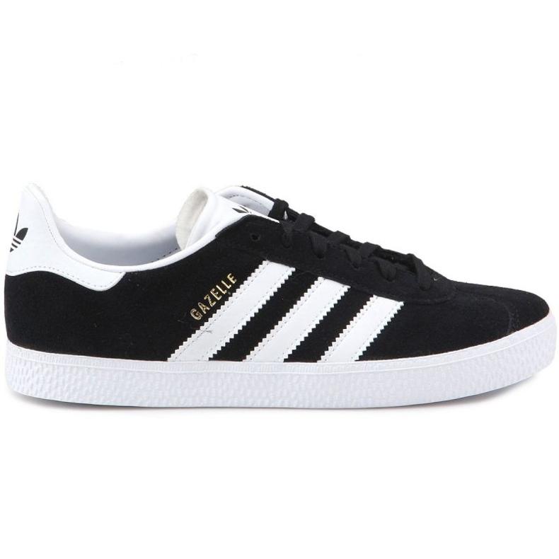 Buty adidas Gazelle C Jr BB2507 czarne niebieskie
