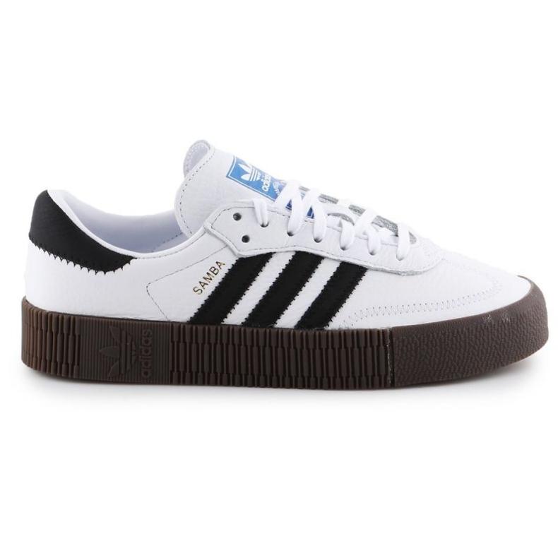 Buty adidas Sambarose W AQ1134 białe czarne