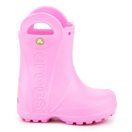 Kalosze Crocs Handle It Rain Boot Kids 12803-612 różowe