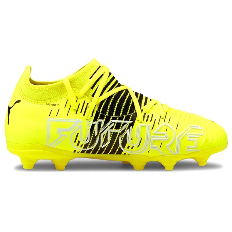 Buty piłkarskie Puma Future Z 3.1 Fg Ag Junior żółte 106395 01