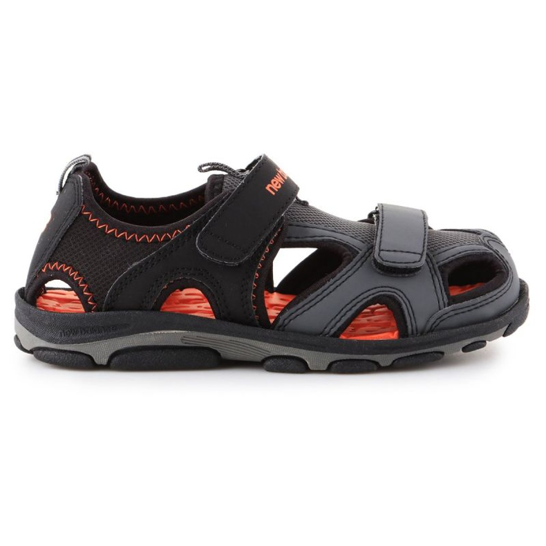 Sandały New Balance Kids Expedition Sandal Jr K2005BON czarne niebieskie