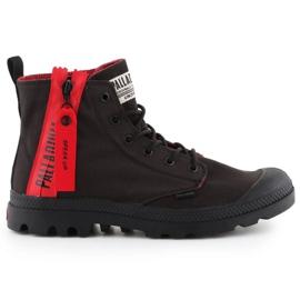 Buty Palladium Pampa Unzipped W 76443-008-M czarne czerwone
