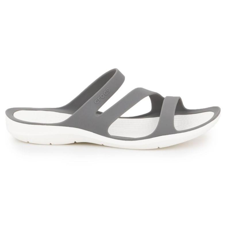 Klapki Crocs Swiftwater Sandal W 203998-06X szare