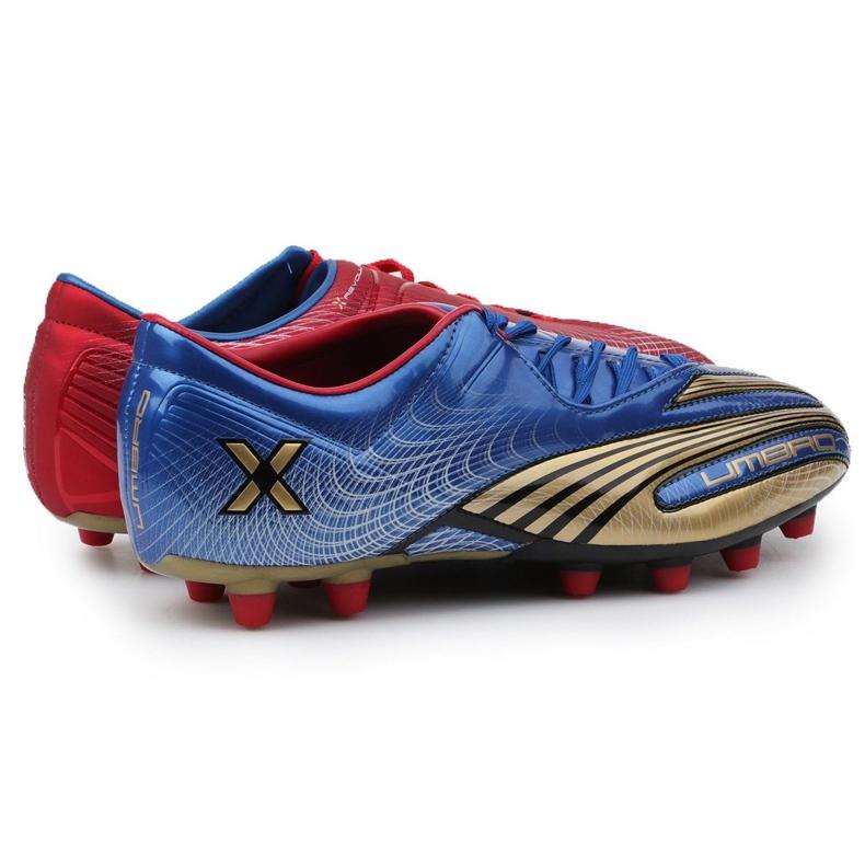 Buty piłkarskie Umbro Revolution Fce II-A Hg M 886669-6CT wielokolorowe granatowy, czerwony, niebieski