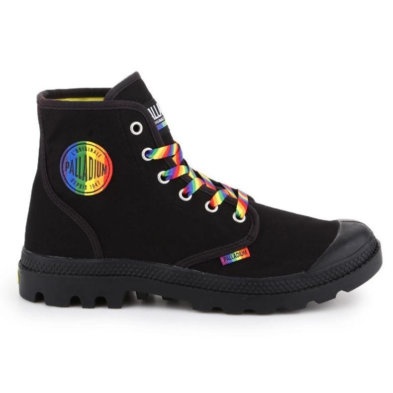 Buty Palladium Pampa Pride Black/Rainbow W 76521-054-M czarne