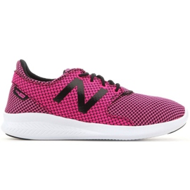 Buty New Balance Jr Kjcstgly czarne różowe