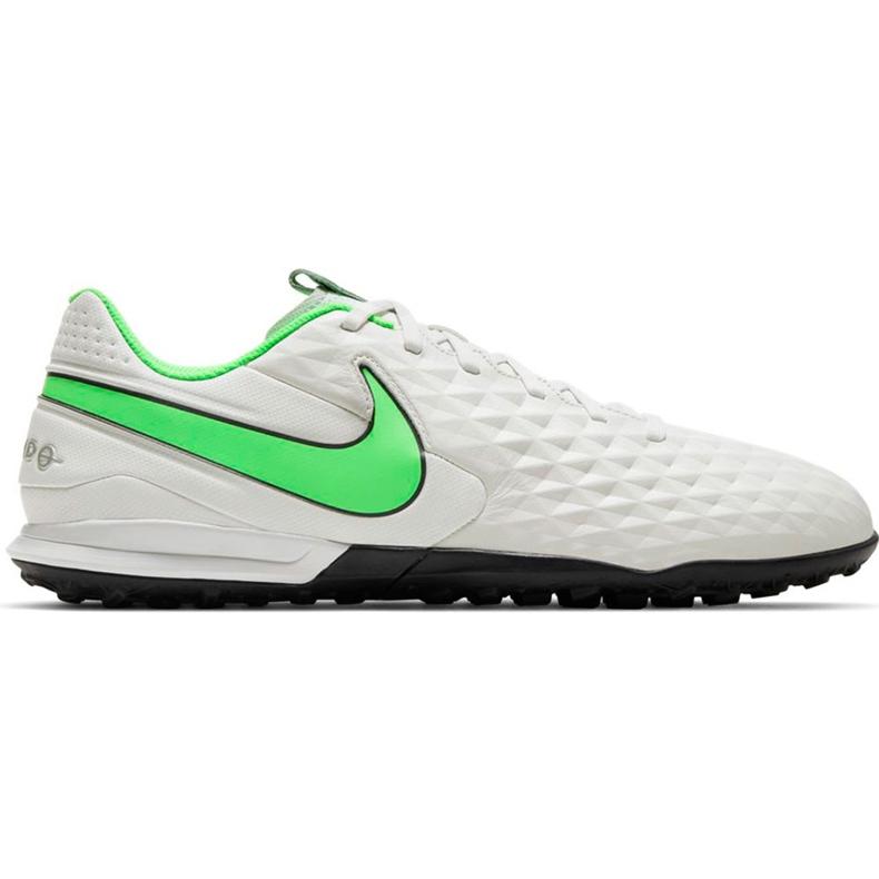 Buty piłkarskie Nike Tiempo Legend 8 Academy Tf AT6100 030 białe białe