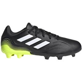 Buty piłkarskie adidas Copa Sense.3 Fg Junior FX1984 czarne czarne