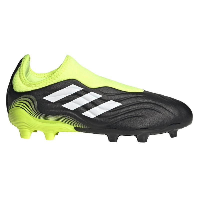 Buty piłkarskie adidas Copa Sense.3 Ll Fg Junior FX1982 żółte czarne