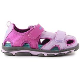 Sandały New Balance Kids Expedition Sandal K2005GP niebieskie różowe
