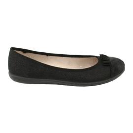 Befado obuwie młodzieżowe 309Q018 czarne