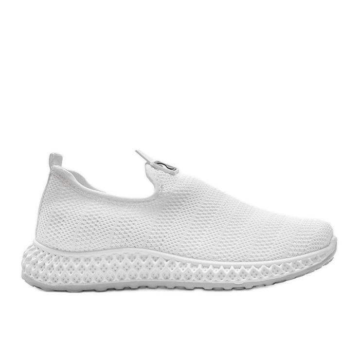 Białe obuwie sportowe wsuwane Katy