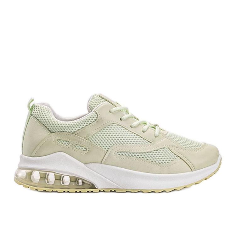 Zielone obuwie sportowe damskie Alize