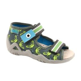 Befado sandały obuwie dziecięce  350P023 zielone