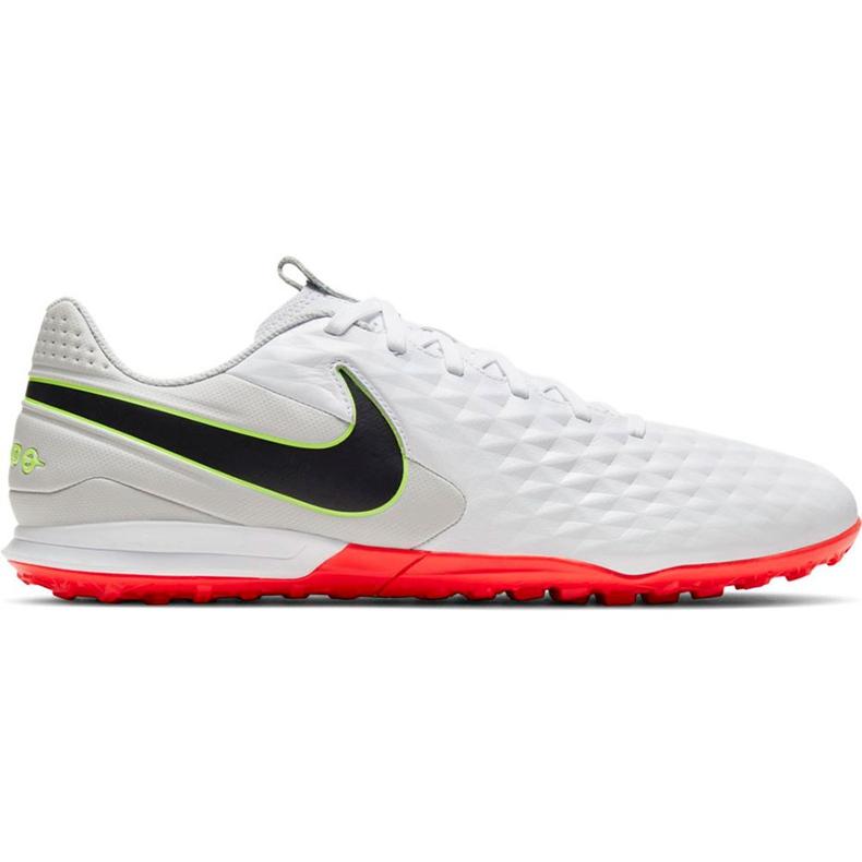 Buty piłkarskie Nike Tiempo Legend 8 Academy Tf AT6100 106 białe