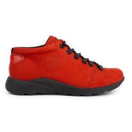 ButBal Damskie buty trekkingowe 674BB czerwone