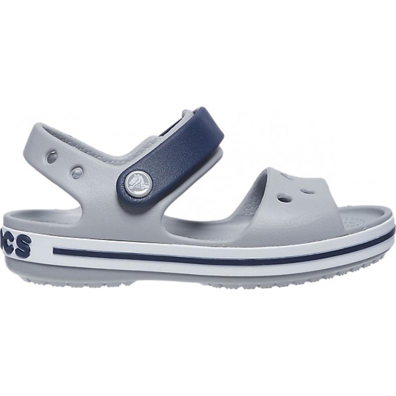 Crocs sandały dla dzieci Crosband Sandal Kids szaro-granatowe 12856 01U szare