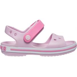 Crocs sandały dla dzieci Crocband Sandal Kids różowe 12856 6GD
