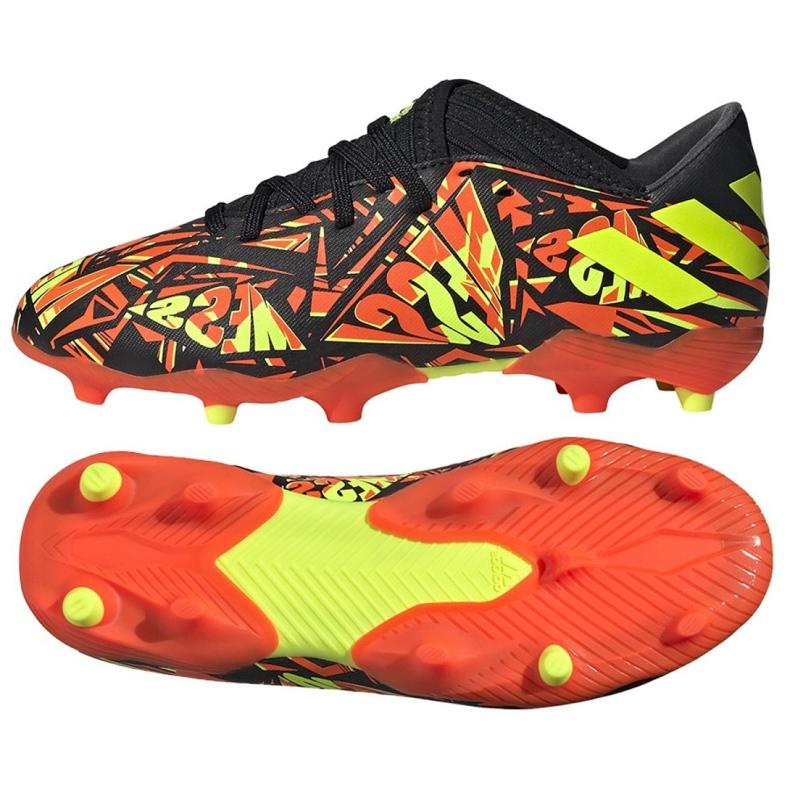 Buty piłkarskie adidas Nemeziz Messi.3 Fg Jr FW7315 wielokolorowe wielokolorowe