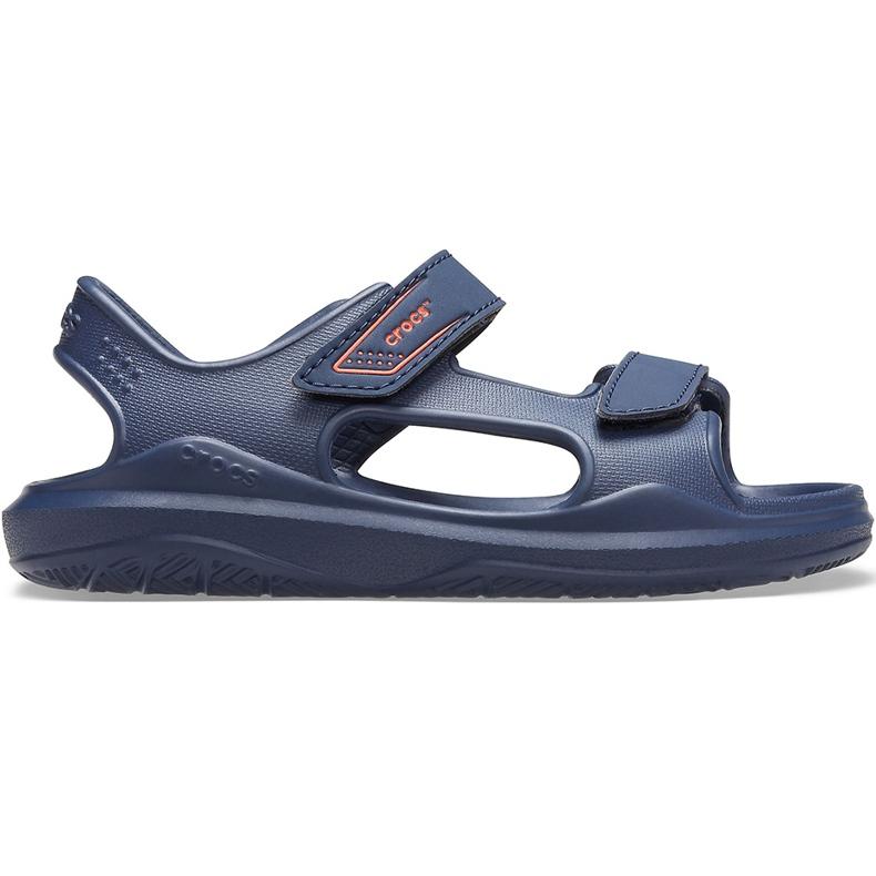 Crocs sandały dla dzieci Swiftwater Expedition granatowe 206267 463
