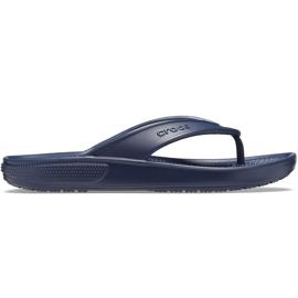 Crocs klapki Classic Ii Flip granatowe 206119 410