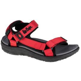 Sandały Lee Cooper Women's Sandals W LCW-21-34-0207L czarne czerwone