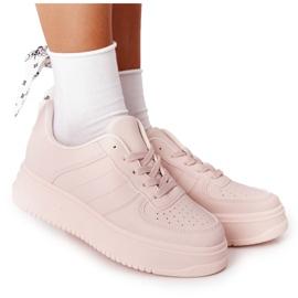 PS1 Damskie Sportowe Buty Na Platformie Różowe This Is Me