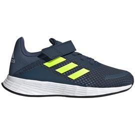 Buty dla dzieci adidas Duramo Sl C granatowe FY9167