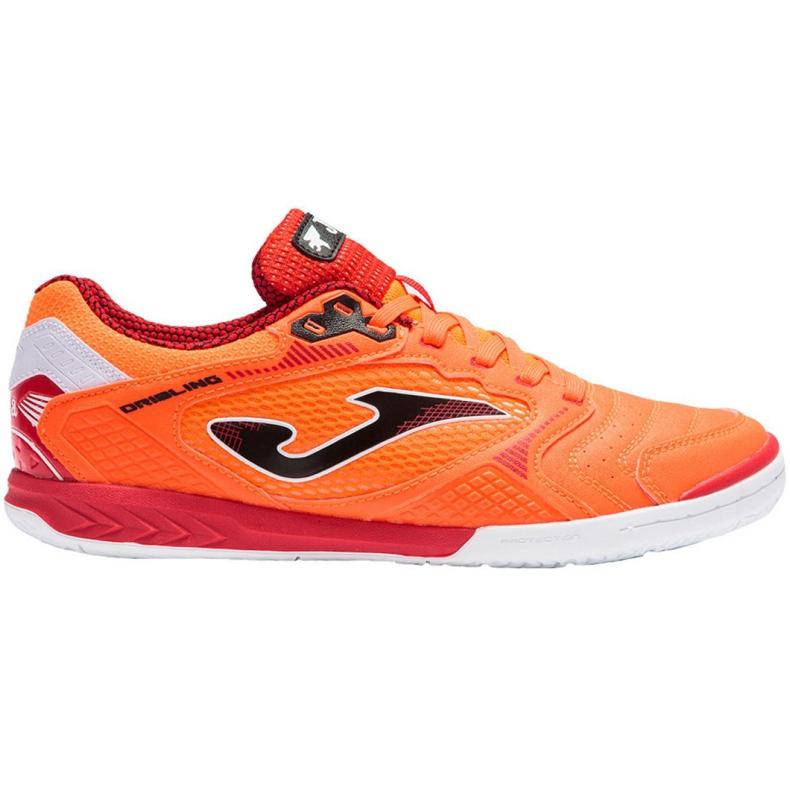 Buty piłkarskie Joma Dribling M 2108 In Sala wielokolorowe pomarańczowe