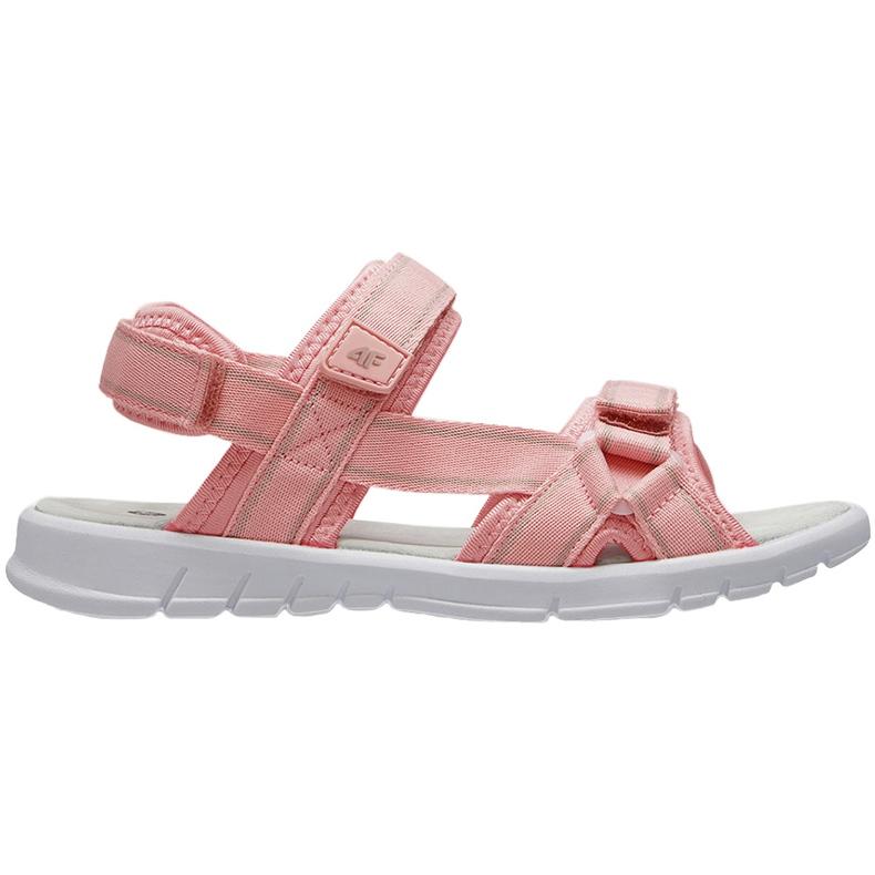 Sandały dla dziewczynki 4F jasny róż HJL21 JSAD001 56S różowe