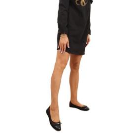 Baleriny ażurowe czarne 1378 Black