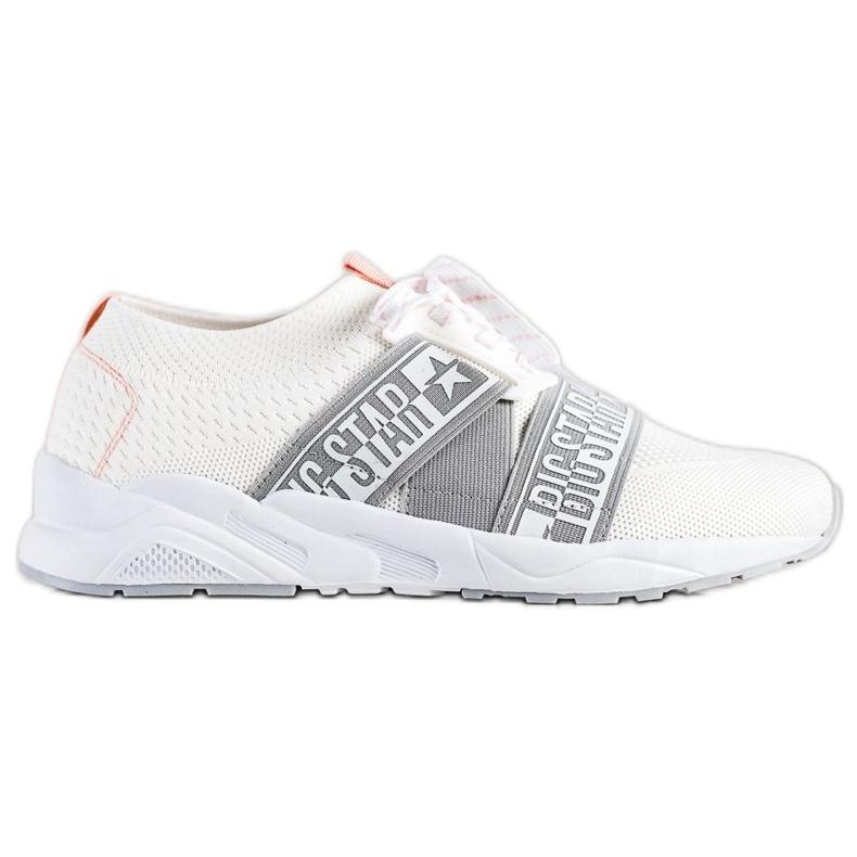 Sneakersy Damskie Big Star HH274355 białe