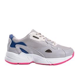 Szare sneakersy damskie Kendall