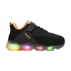 Vices 3XC8081-LED-138-black/orange czarne