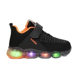 Vices 1XC8081-LED-138-black/orange czarne wielokolorowe