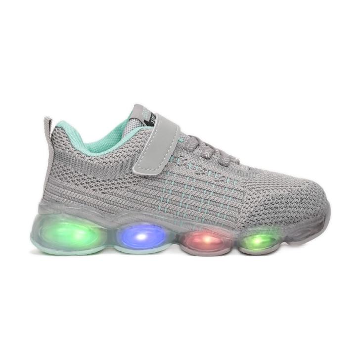 Vices 3XC8078-LED-443-grey/mint szare