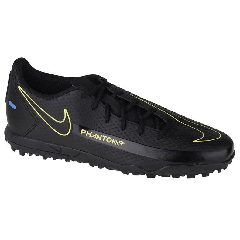 Buty piłkarskie Nike Phantom Gt Club Tf M CK8469-090 wielokolorowe czarne