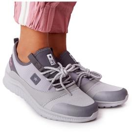 NEWS Damskie Sportowe Buty Comfort Foam Szare The Best