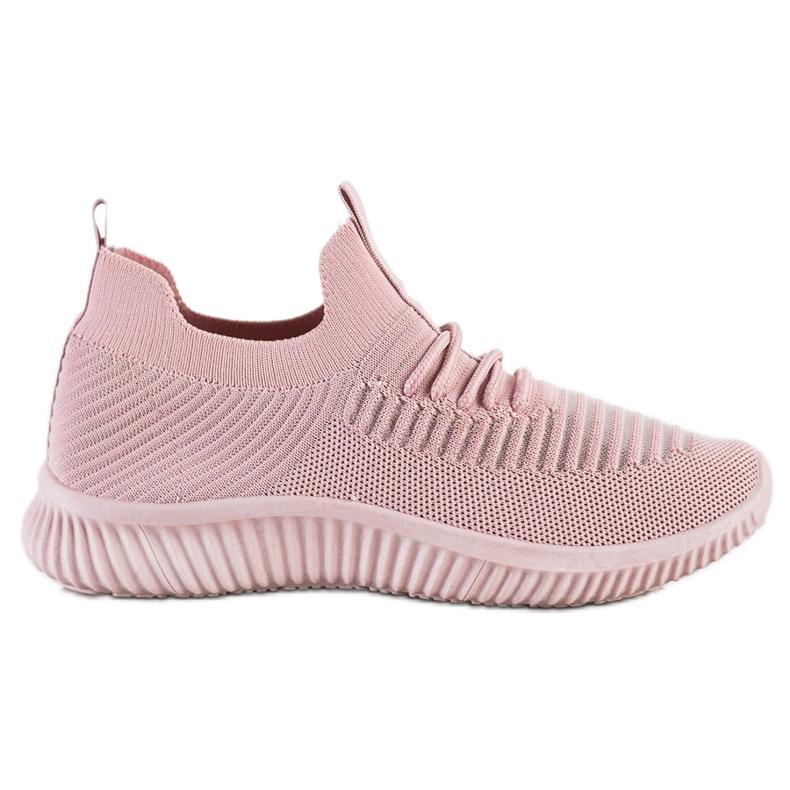 Różowe Sneakersy MCKEYLOR