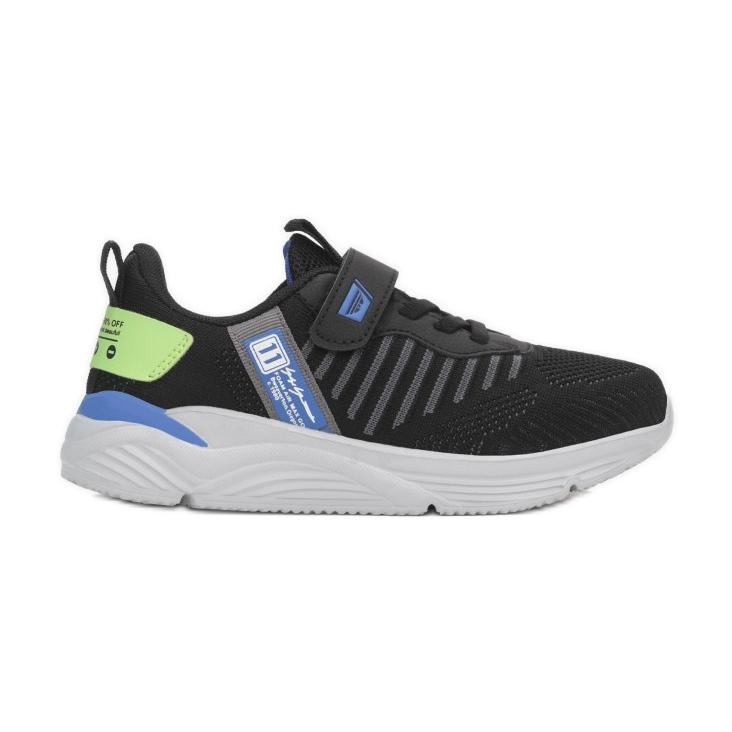 Vices 5XC8203-156-black/blue czarne wielokolorowe