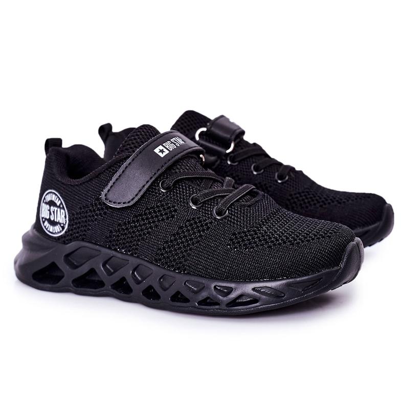 Dziecięce Sportowe Buty Sneakersy Big Star HH374184 Czarne